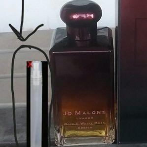 Jo Malone Rose &White Musk Absolu 3ml Atomizer
